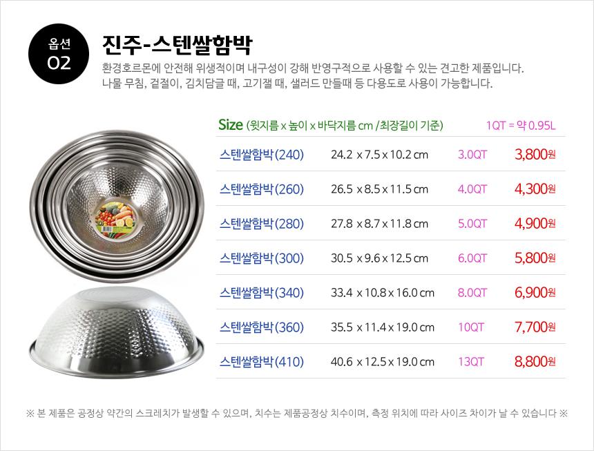 02) 진주-스텐쌀함박